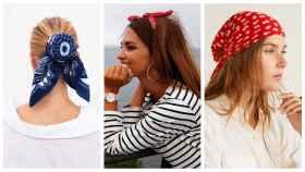 Tres formas de lucir el pañuelo esta primavera - verano.