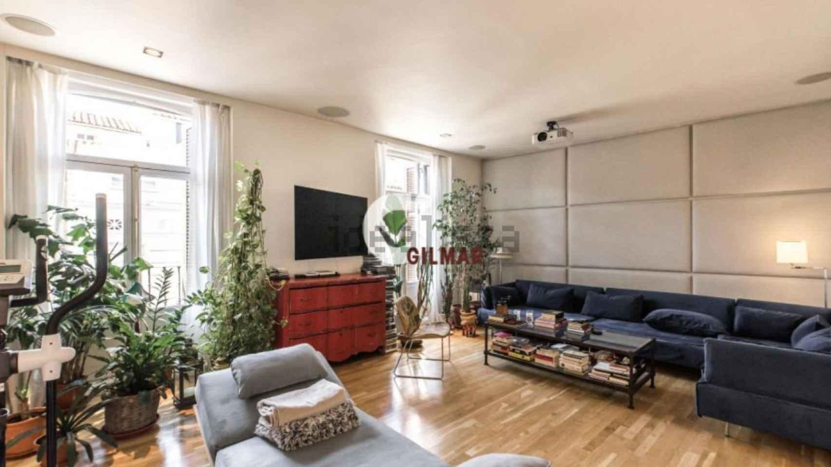 El piso de Fernando Tejer en Madrid, en imágenes