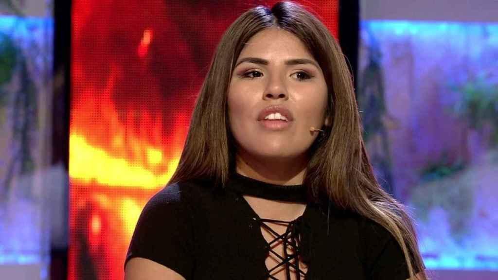 Isa Pantoja en el programa 'Conexión Honduras'.