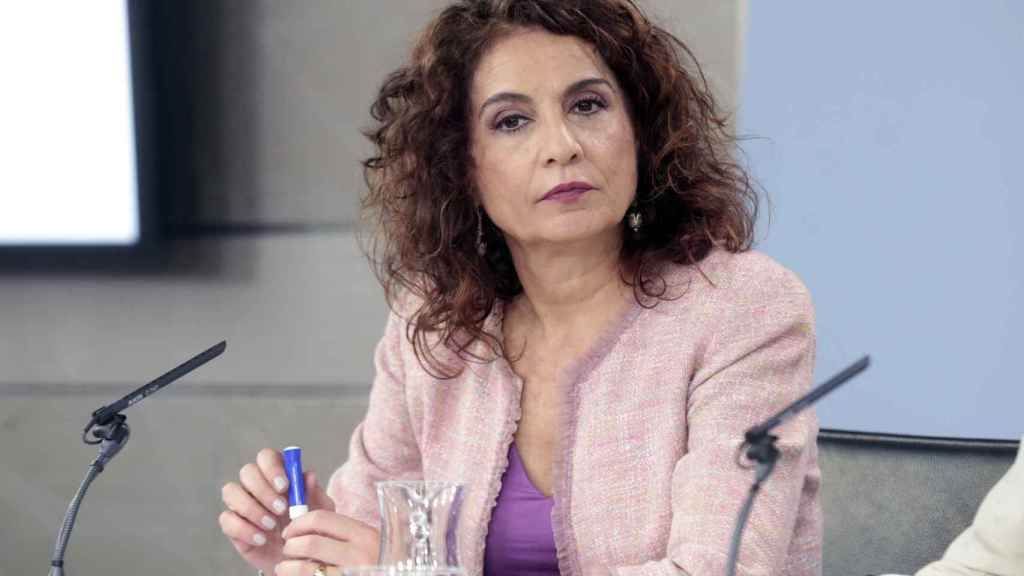 María Jesús Montero, ministra de Hacienda.