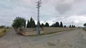 Parte trasera del cementerio de Talavera de la Reina
