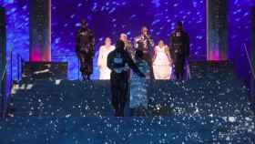 La actuación de Madonna.