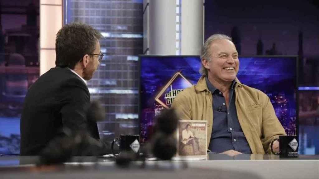 Bertín Osborne este martes en 'El Hormiguero'.