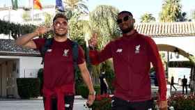 El Liverpool se concentra en el Healthouse Las Dunas antes de la final de la Champions League