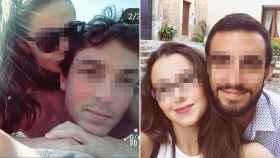 Darío, a la izquierda, y Juan Carlos, a la derecha, los dos fallecidos en el accidente.