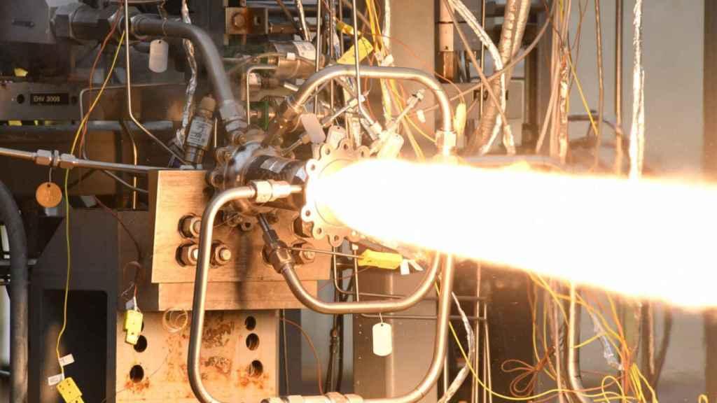 nasa impresion 3d cohete 1