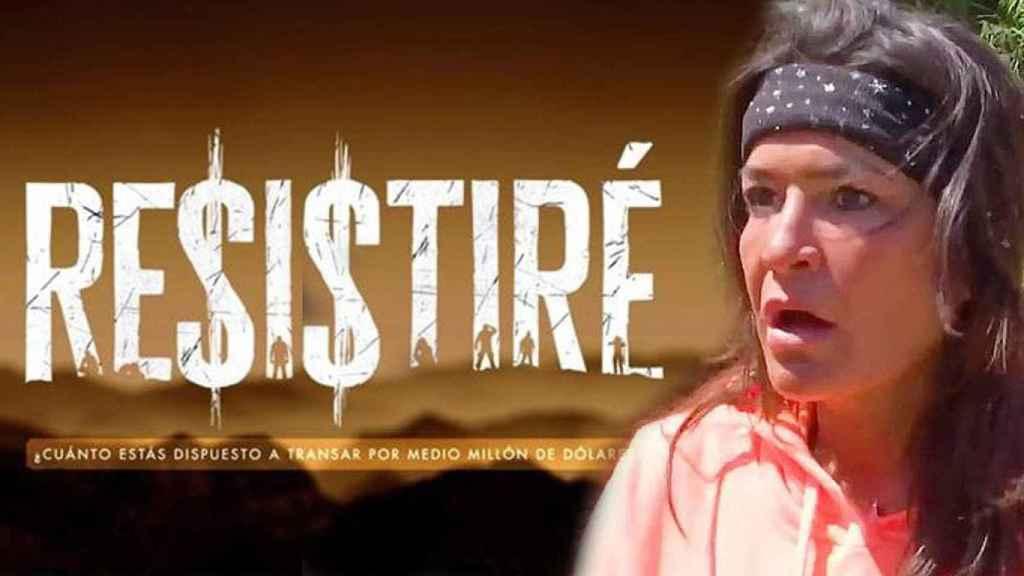 Aída Nizar en una imagen promocional de 'Resistiré'.