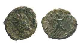 Las monedas del Emperador Leliano.