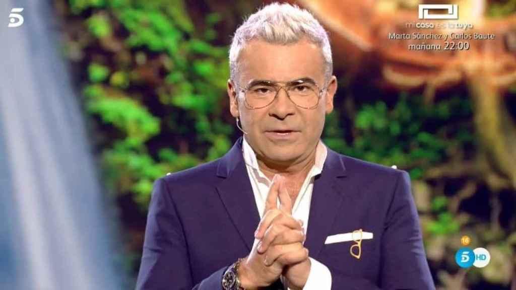 Jorge durante sus disculpas.
