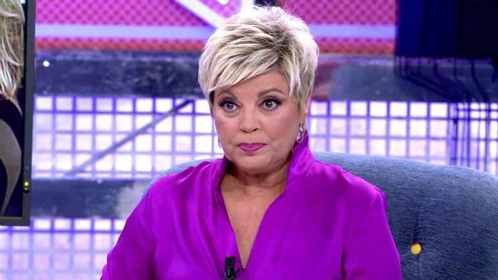 Terelu Campos en una imagen de Telecinco.