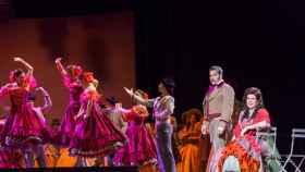 Uno de los momentos de Doña Francisquita, en el Teatro de la Zarzuela.