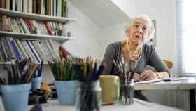 Judith Kerr, en una foto de archivo.