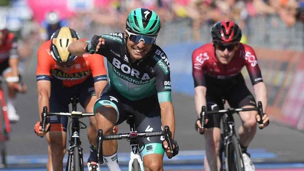 Benedetti se lleva la 12ª etapa del Giro de Italia. Foto: Twitter (@giroditalia)