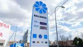 Una gasolinera de Ballenoil.