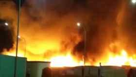 El suceso ha ocurrido en un asentamiento chabolista de inmigrantes. Foto: EuropaPressTV.