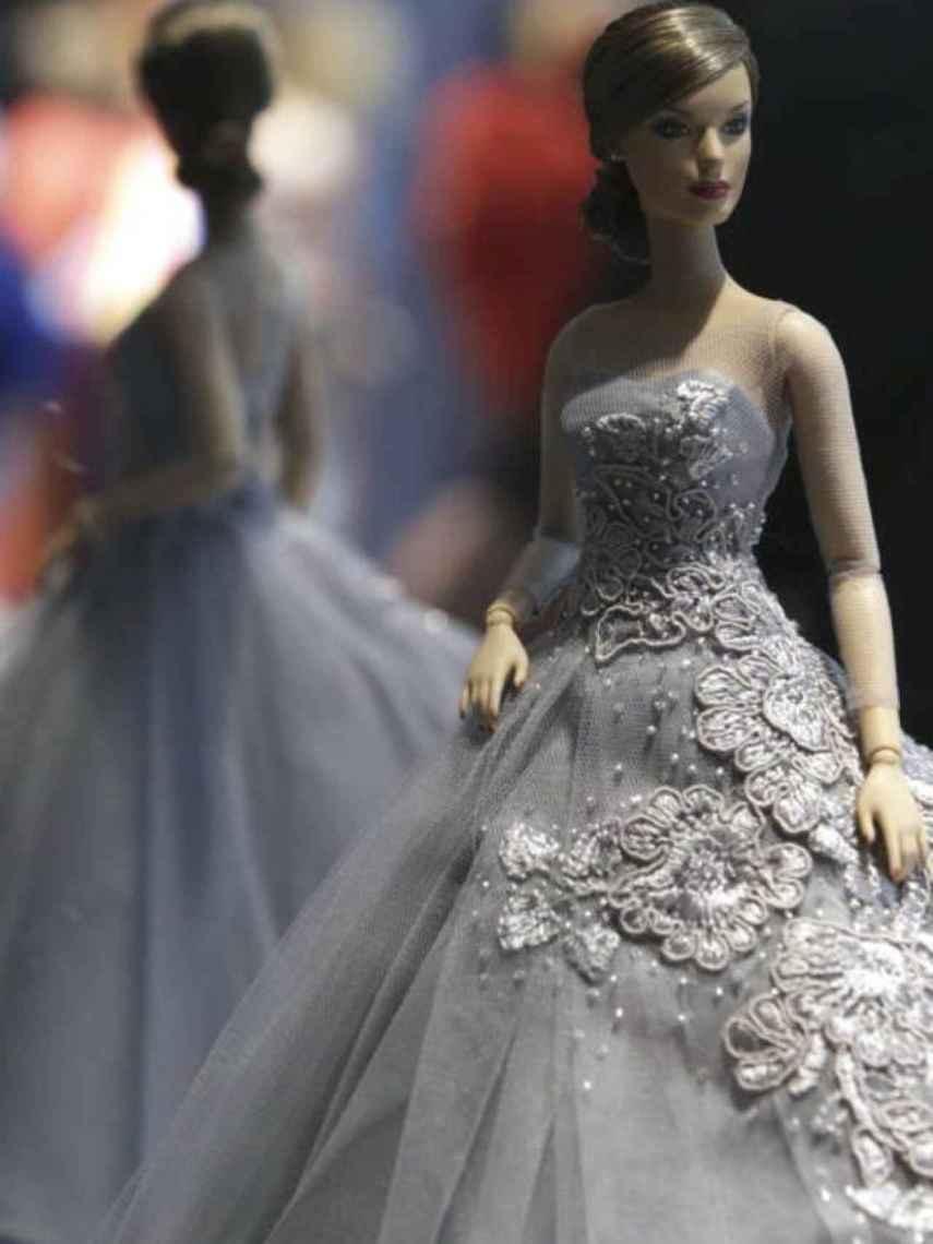 Detalle de la muñeca de la reina Letizia que AFD Group creó en 2015.