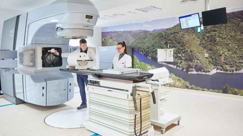 Así es la máquina donada por Amancio Ortega.