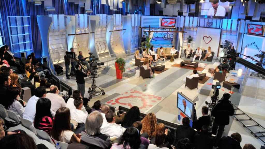 El público del programa 'Mujeres y Hombres y Viceversa'.