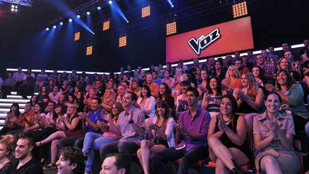 Público de 'La Voz'.