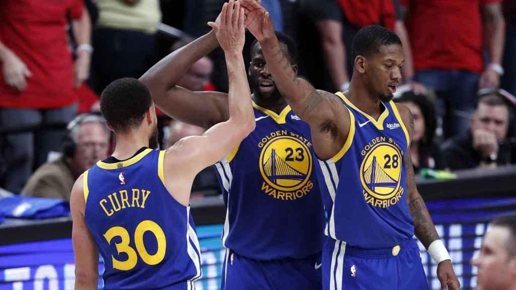 Los Golden State Warriors ante los Portland