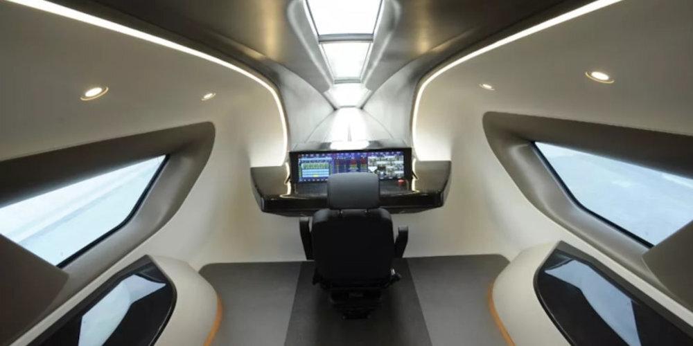El nuevo tren maglev de China alcanzará los 600 km/h