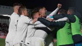 El Real Madrid Castilla.