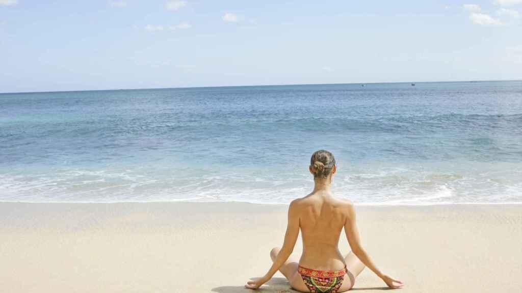 Salud frente al mar.