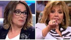 Teresa Campos y Toñi Moreno en montaje JALEOS.