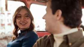 Los actores que interpretan a Hortensia y Antonio en el corto 27 minutos.