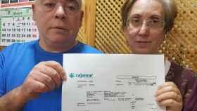 Juan Borja y Carmen Espinosa, la pareja de Murcia a la que Iberdrola ha devuelto 1.200 euros