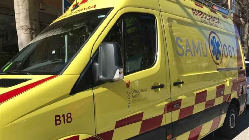 Ambulancia del servicio de emergencias de Islas Baleares