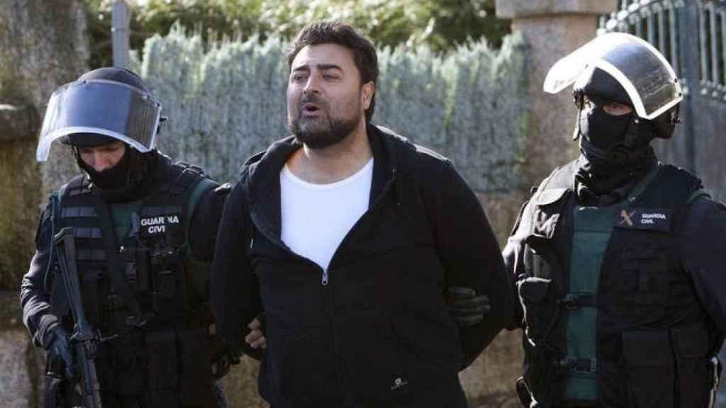 Juan Paulo, detenido por la Policía Nacional.