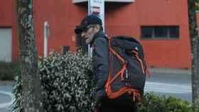 Josu Ternera, momentos antes de ser detenido en Francia.