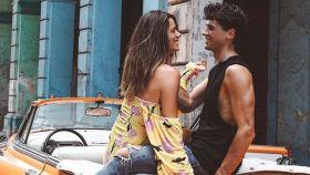 Laura Matamoros y Daniel Illescas en La Habana.