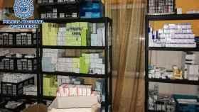 Dosis de medicamentos ilegales intervenidos por la Policía en Valencia.