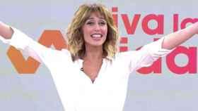 Emma García en el programa 'Viva la vida'.