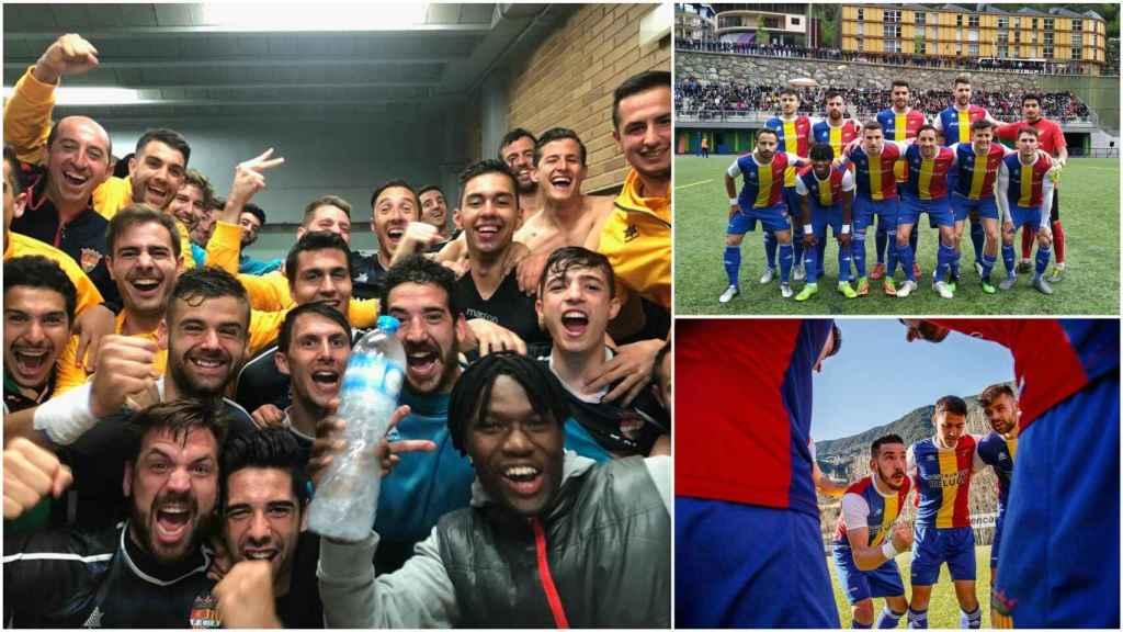 El Andorra de Piqué asciende a Tercera División