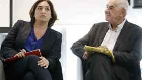 Ada Colau y Ernest Maragall en un debate electoral.