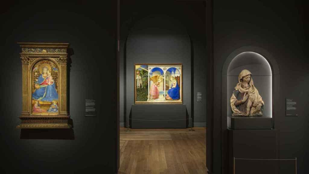Imagen de las salas de la exposición.
