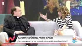 """El Padre Apeles relata cómo la tele le desbordó: """"Tenía ganas de morirme"""""""