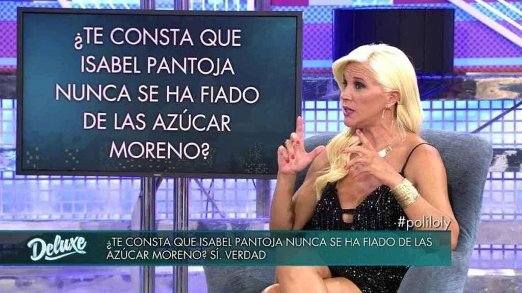 Isabel Pantoja tiene privilegios en 'Supervivientes' según el polígrafo