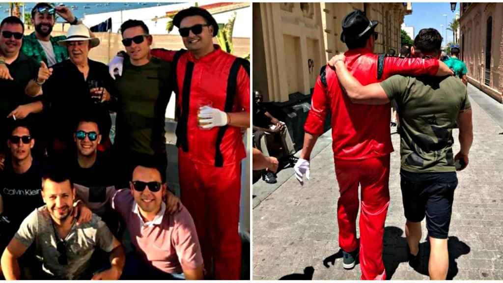 Miguel Marcos y sus amigos celebran su despedida de soltero en Andalucía.