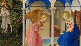 'La Anunciación', de Fra Angelico, restaurada.