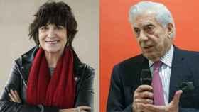 Rosa Montero y Mario Vargas Llosa.