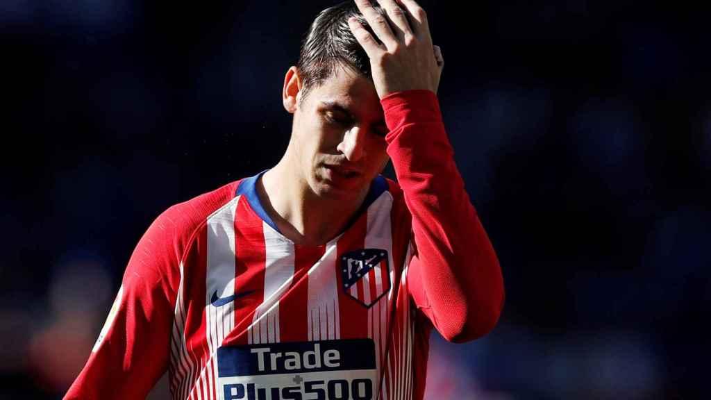 Morata, con el Atlético
