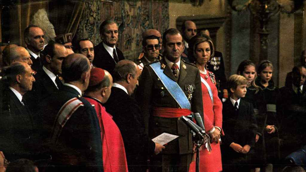 El Rey Juan Carlos I, en los años 80.