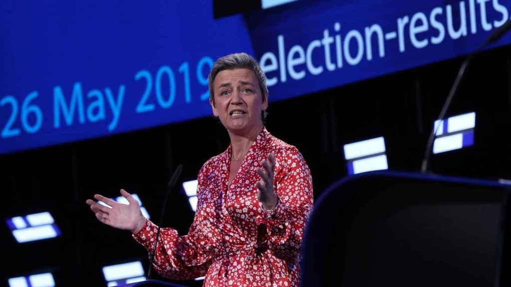 La comisaria Margrethe Vestager parte como favorita en la carrera para suceder a Juncker