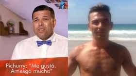 A la iquierda, Pichurry, concursante del programa Ven a cenar conmigo, a la derecha, Mamel, fallecido en Oviedo tras ser atropellado