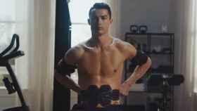 Cristiano Ronaldo promocionando Six Pad.