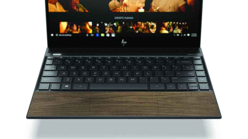 Portátiles HP madera 3